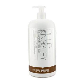 Philip Kingsley - Re-Moisturizing Conditioner (For Coarse Textured Or Very Wavy Curly Or Frizzy Hair) 1000Ml/33.8Oz - Soins Des Cheveux