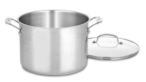 Cuisinart 76610-26g Chef 's Classic 10-quart Suppentopf mit Glas Cover 10 Quart Stock Pot