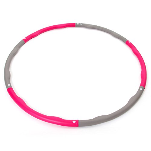 66fit Weighted Hula – Fitness Hula Hoops