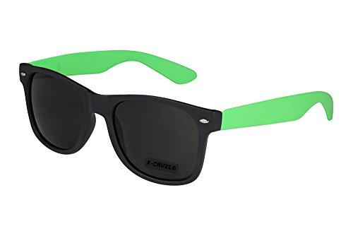 X-CRUZE 8-068 X 16 Nerd Sonnenbrille Style Stil Retro Vintage Retro Unisex Herren Damen Männer...