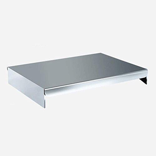 ZLR Moderne Mode Küchenregal Edelstahl Induktionskocher Standfuß Verflüssigte Erdgas Gas Herd Abdeckung Tisch Herd Abdeckung ( größe : 48*33*7cm ) Gas-herd Holz
