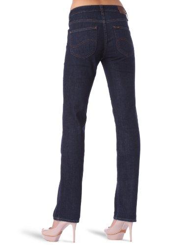 Lee - Marion - Jeans droit - Femme Bleu (Stone Washed - Rinse)