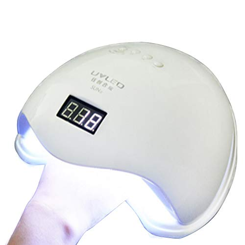 RJDJ UV LED Lámpara uñas Secador Gel Polish 48W