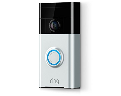 Ring Video Doorbell in Satin Nickel