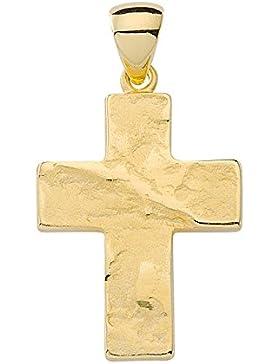 Kreuz Anhänger / Kettenanhänger aus 333 Gold