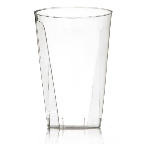 Classic Clear Square 7 oz. Tumblers - 20 Count by Blue Sky - Classic Clear Tumbler