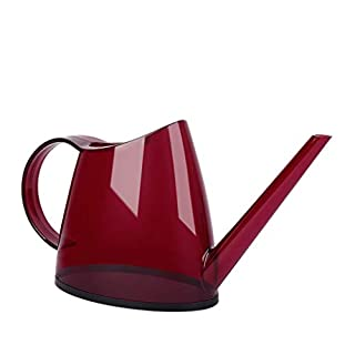 ACA Toys Children's Red Watering Can with Top and Side Handle - Garden Tools for Kids