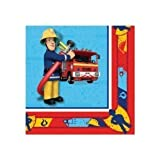 20 Feuerwehrmann Sam Papier Servietten