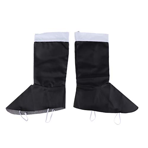 Baoblaze Erwachsene Kinder Stiefelüberzieher Überschuhe Abdeckung für Weihnachsmann Kostüm - Kinder (10-13J)