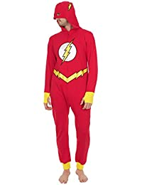 DC Comics - Ensemble de pyjama - Homme Multicolore Red, Yellow, White