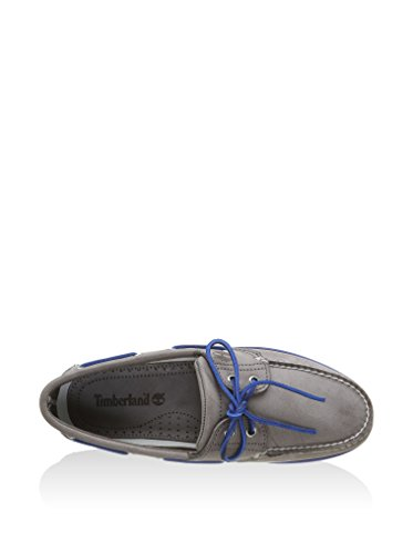 Timberland Classic Boat 2 Eye, Chaussures de Voile Homme gris - Gris / Azul