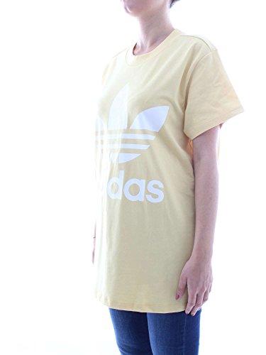 Adidas CE2438, Shirt kurzarm Damen, damen, CE2438 sand