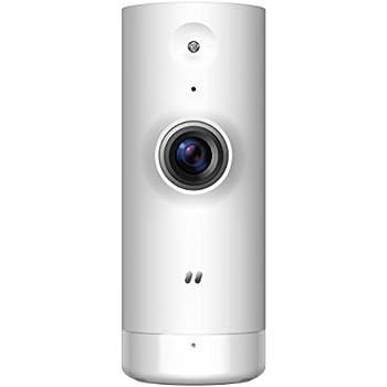 D-Link DCS-8000LH/B Mini HD Wi-Fi Camera, UK Model