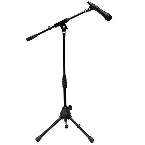 Cablematic - Soporte de micrófono pie jirafa mini