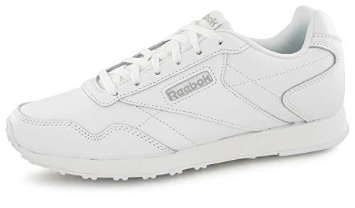 Reebok Royal Glide Damen LX Laufschuhe,Weiß (White/Silver Met 000), 39 EU -