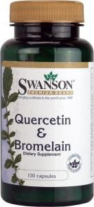 Swanson Quercetin & Bromelain (100 Capsules)