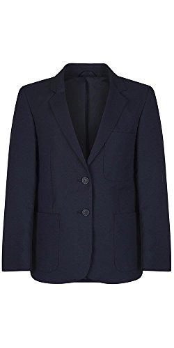 Girls Navy Polyester School Blazer, 79cm = 31