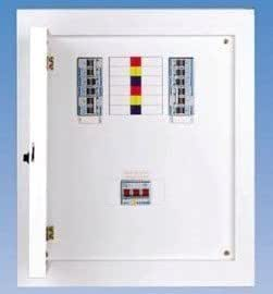 tp n 3 phase distribution board db fuse box consumer unit 4way 415v rh amazon co uk  3 phase fuse box
