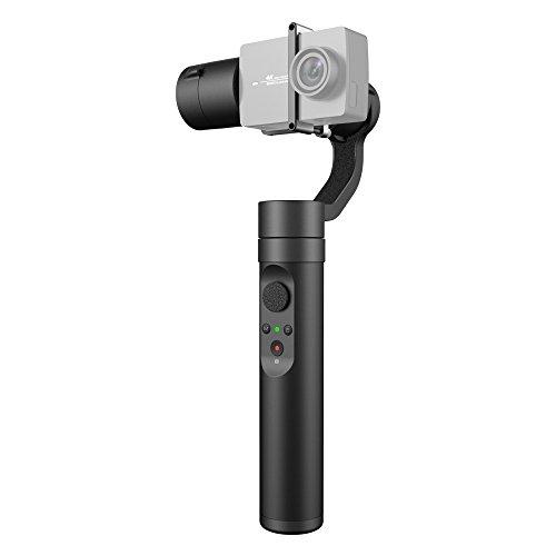YI Gimbal Action Stabilizzatore 3 Assi con Bluetooth Rotazione Pan/Tilt 320° Lunga Autonomia per Action Camera YI 4k YI 4k+ YI Lite