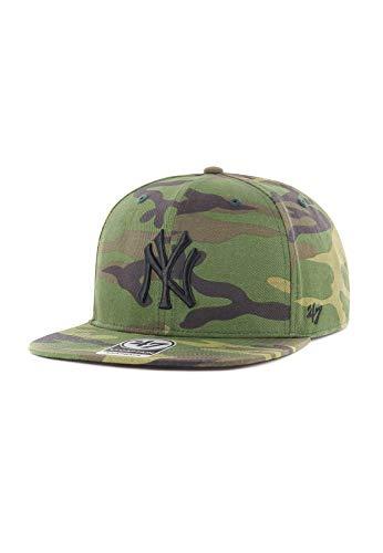 47Brand Captain Snapback NY YANKEES GRVEC17CNP-CMA Camouflage, Size:ONE SIZE (47brand Snapback)