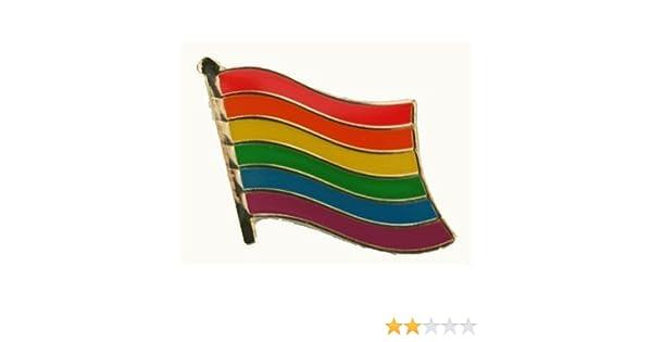 Flaggen Pin Fahne Regenbogen Anstecknadel Flagge