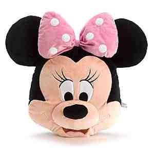 nnie Mouse 46cm große Gesicht Kissen weichen Plüsch ()
