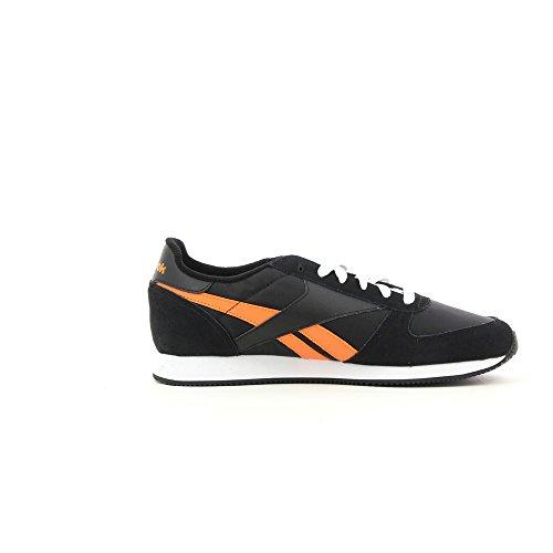 Reebok CLASSIC JOGGER J99289 Herren Sneaker - Nero/Arancione