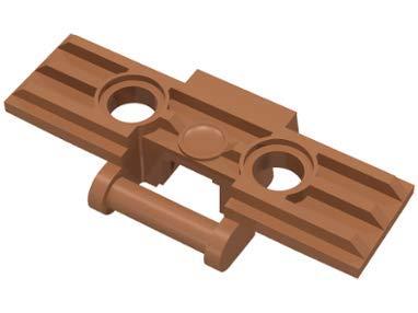 LEGO 3873 - 3648 Technic - Eslabón Grande Oruga 50