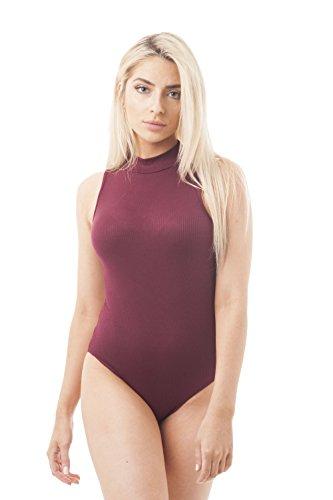 Khanomak Damen Formender Body burgunderfarben