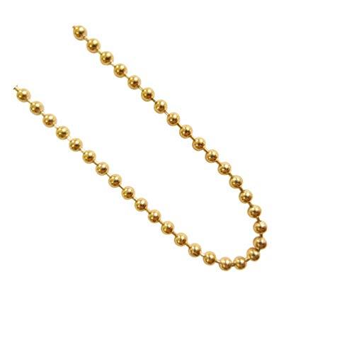 blumenkind Halskette Goldfarben 80 cm SC073G80