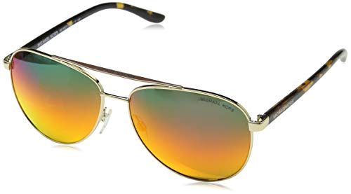 MICHAEL KORS Damen 0MK5007 Sonnenbrille, Lite Gold), 59