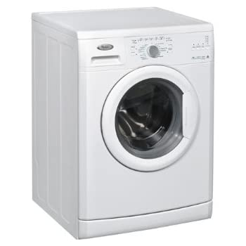Whirlpool DLC6010 Freestanding Front-load 6kg 1000RPM A++ White washing machine - washing machines (Freestanding, Front-load, White, Left, Stainless steel, White)