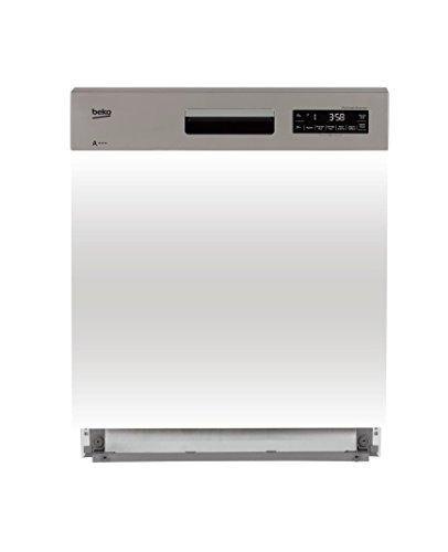 Beko PDSN39530X lave-vaisselle Entièrement intégré 15 places A+++ - Lave-vaisselles (Entièrement intégré, Blanc, Taille maximum (60 cm), Tactil, LCD, Circulation Turbothermic)