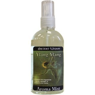 Ylang Ylang 100ml Room Spray. Ancient Wisdom Aroma Mist sprays come in 100ml bottles and are expertly blended to enhance your living space.. A perfect gift - great for Birthdays, Christmas...... by TTG(AW) - General Giftware