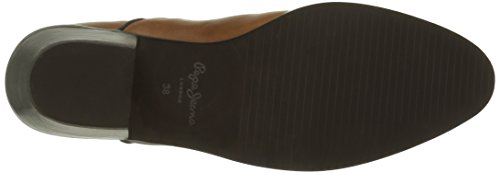 Pepe Jeans Dina Basic, Bottes Souples Femme Marron (877Nut Brown)