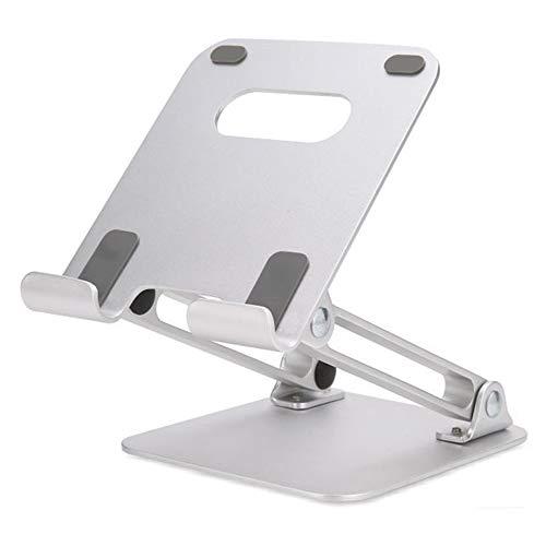 Digital Electronics Handy-Tablet-Ständer, Verstellbarer, klappbarer Handy-Notebookständer aus Aluminium, Desktop-Multifunktionsständer aus Metall