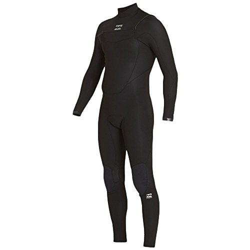 BILLABONG 2017 Absolute Comp 5/4mm Chest Zip Wetsuit Black F45M21 Sizes- - Small