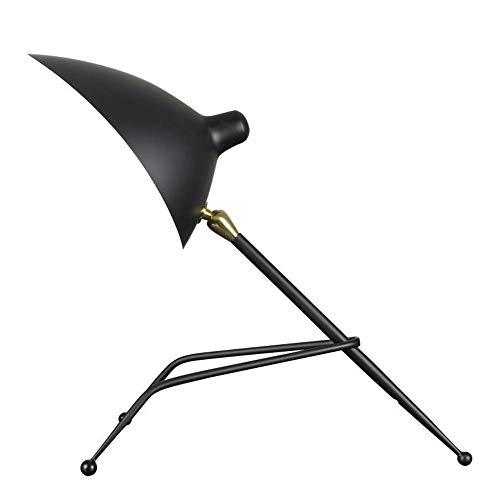 GENGYI Moderne Eisen Tischlampe Persönlichkeit Kreative Ameisen Katze Form Lampe Schlafzimmer Wohnzimmer Studie Loft Schreibtisch Lampe E27 * 1 Lampenfassung -