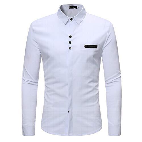 Blusa Hombre BaZhaHei Camisetas Hombre Abierta Color