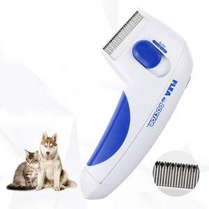 UBS Pet Shop Electronic/Doctor Flea Comb for Dogs Cats and Pets/Naturally Kill Tick and Remove Fleas
