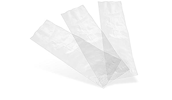 Vegware Compostable Clear Natureflex Bags 70x210mm - 1x1000: Amazon