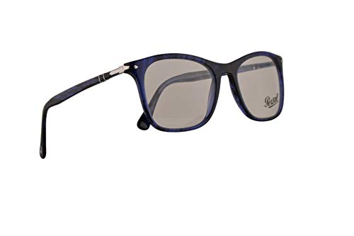 Persol PO3188V Brillen 51-19-145 Blaugestreift Mit Demonstrationsgläsern 1053 PO 3188V PO 3188-V PO3188-V