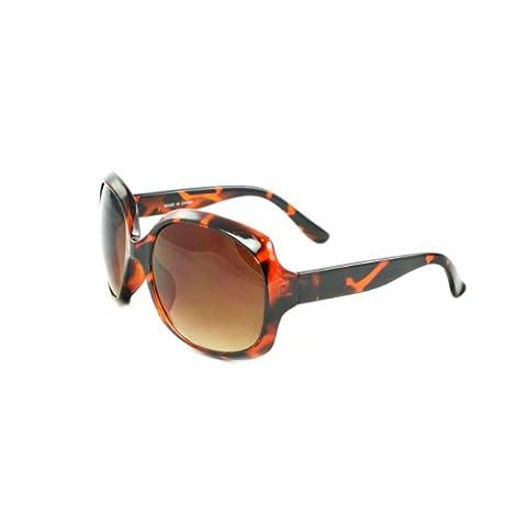 MLC Eyewear Celebrity Fashion Sunglasses 362BNPYAM Brown Python Design with