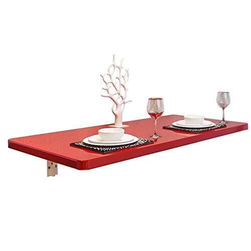 BAIF Klappbarer Wand-Laub-Tisch Küche und Esstisch Schreibtisch Home Desk Workbench Storage Regalhalterung Computertisch (Größe: 80 * 30 cm)