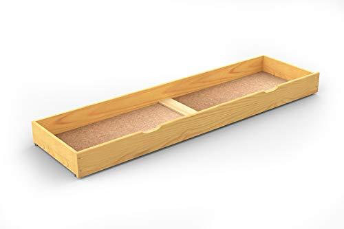 Under bed drawer sous Lit tiroir, DE Rangement sous Lit, Dessous, Aulne (188 cm)