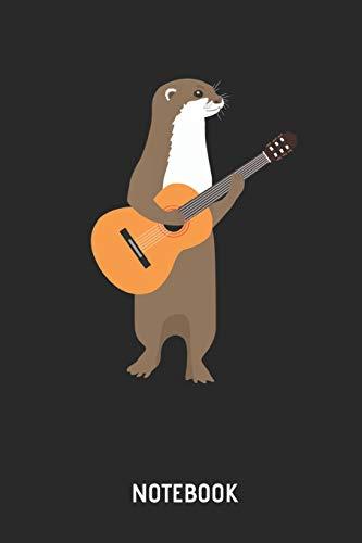 Kostüm Männer Für College - Otter | Notizbuch: Otter mit Gitarre - Liniertes Notizbuch & Schreibheft für Männer, Frauen und Kinder. Tolle Geschenk Idee für alle die Otter Fans und Gittaristen.. .