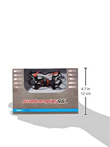 Remote Controlled Rc Quadrocopter Drone Rocket 65XS 3D–4channel RTF by XciteRC