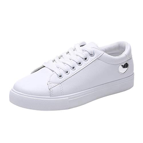 Mosstars ❤️ Donna Sneakers Scarpe da Ginnastica Basse Running Tennis Scarpe Foundation Scarpe Sportive Bambini e Ragazzi Casual all'Aperto
