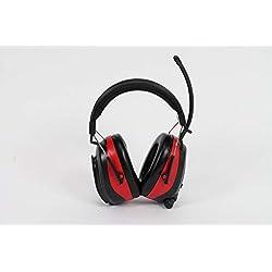 Nordstrand Casque Anti-bruit Protection Auditive - avec Radio et Stéréo Prise d'entrée- NRR 25dB