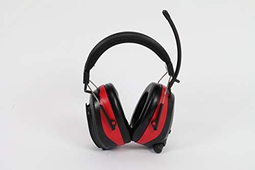 Nordstrand NRR 25dB Gehörschutz Ohrenschützer Kapsel mit Radio und SmartPhone Anschluss